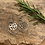 Thumbnail: Heart Drop Earrings  Silver Earrings W&F