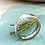Thumbnail: Hammered  Ring  - light Oxidisation Size  R1/2 or  S