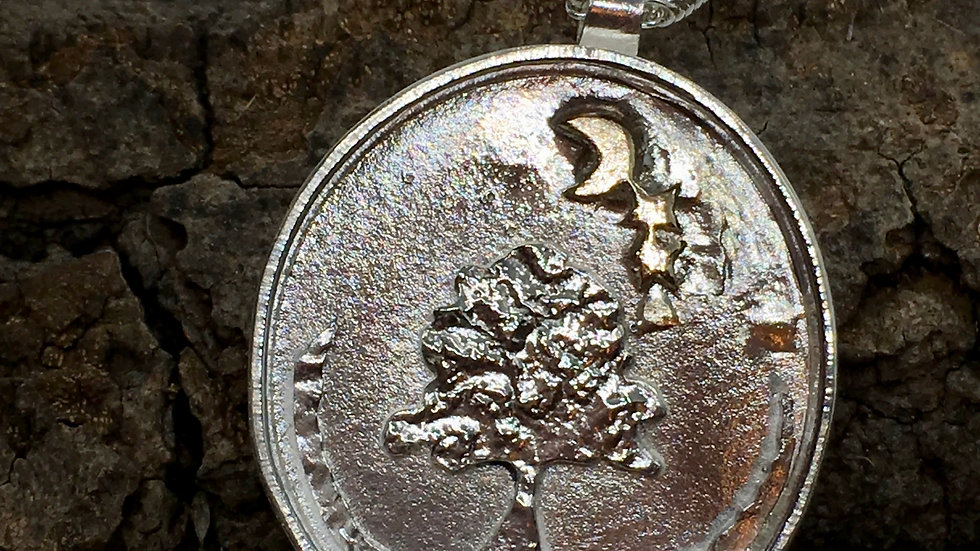 Sycamore Gap Necklace © -Silver Gold for AOB