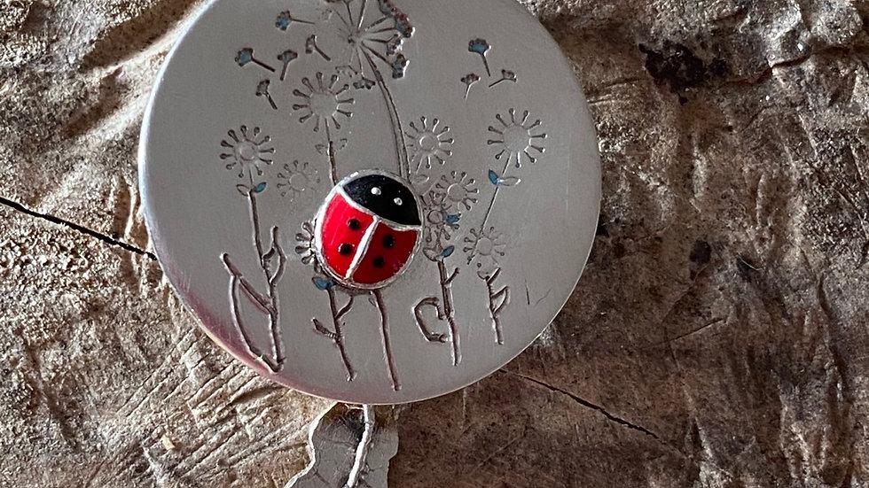 Ladybird Ladybug articulated Necklace