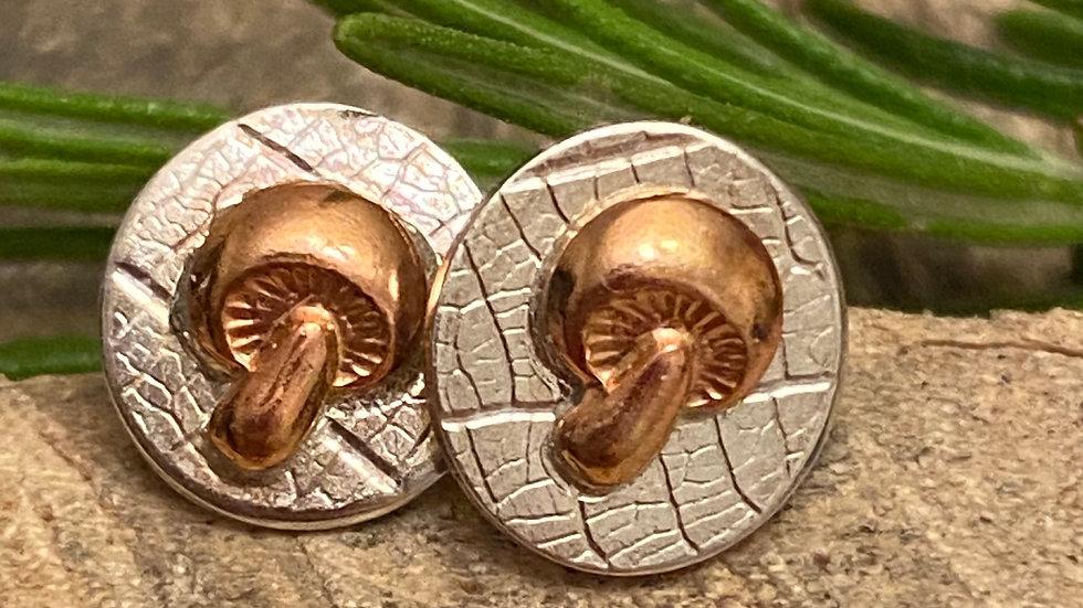 Mushroom Stud Earring