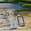 Thumbnail: Rectangular Simple Silver Stud Earrings  £10
