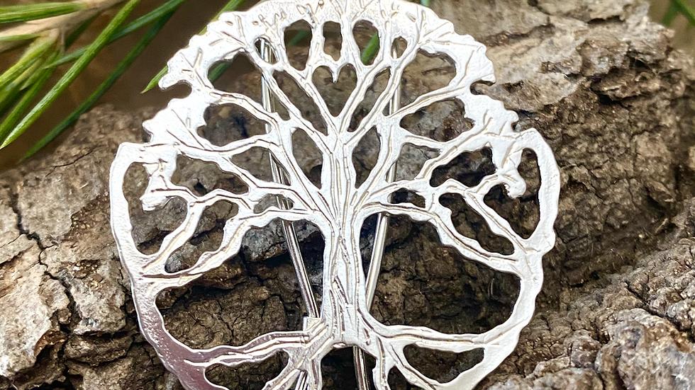 Brooch Yorkshire Tree of Life ©