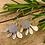 Thumbnail: Mistletoe Silver Drop Earrings   OUT of Stock F&W