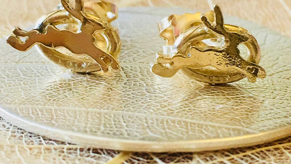 The Golden Hare Earrings o
