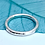 Thumbnail: Hammered Halo Heavy Ring in Silver - made to order