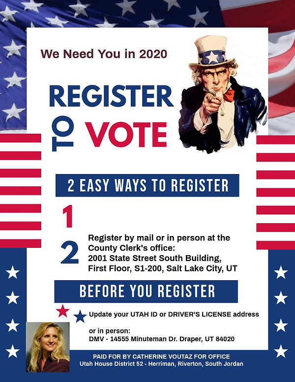 Voter Registration - Made with PosterMyW