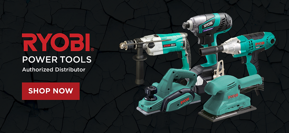 Ryobi Power Tools Authorized Distributor, Shop Now, various teal power tools