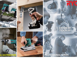 We are the Official Distributor of Ryobi Power Tools in the Philippines!