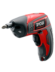 Red and black screw driver, Ryobi Power Tools BDX-2