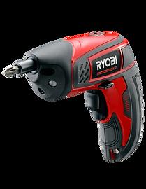 Red and black screw driver, Ryobi Power Tools BDX-2
