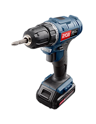 Black and blue impact driver drill, Ryobi Power Tools