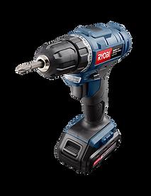 Black and blue impact driver drill, Ryobi Power Tools