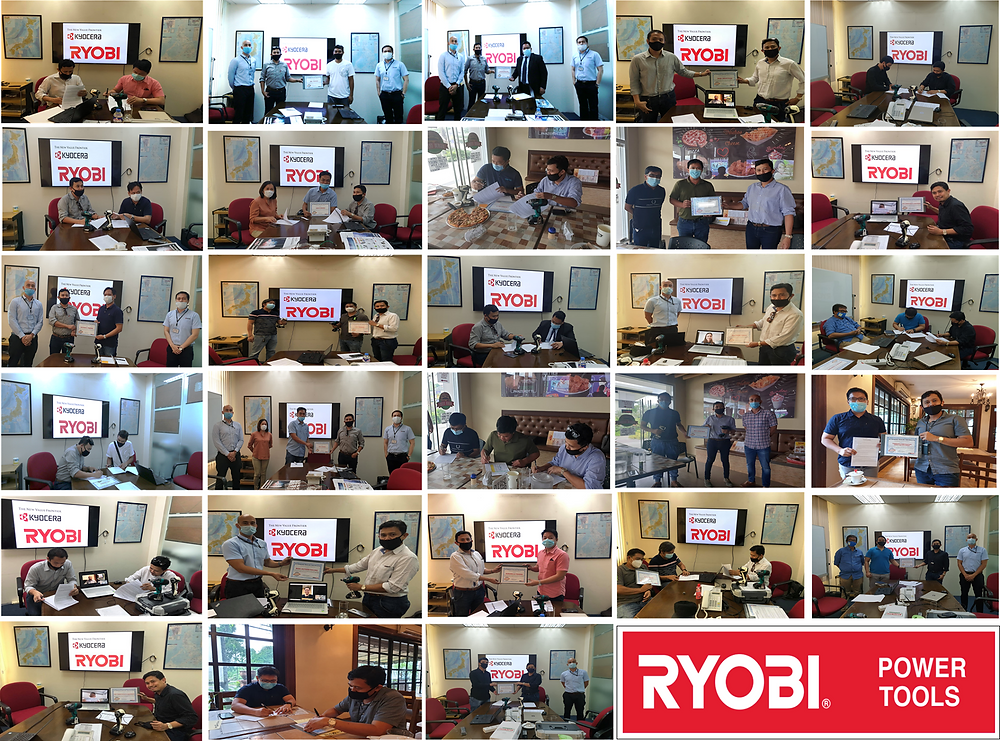 Picture compilation of Authorized Dealers for Ryobi Power Tools Philippines