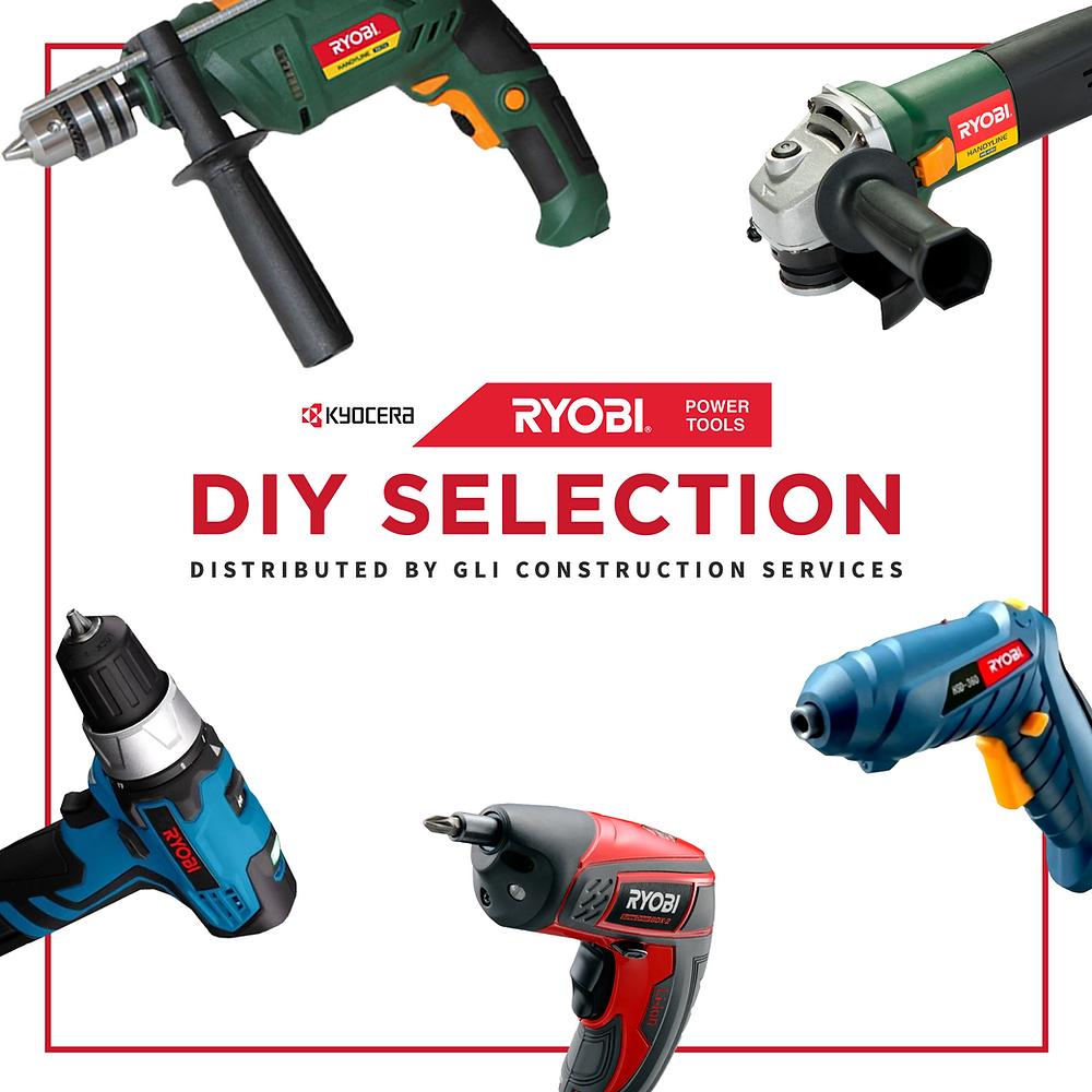Ryobi Power Tools, a variation of DIY power tools