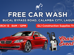 Free Car Wash for a Cause on March 13, 2021