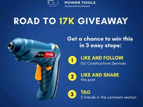 Facebook Ryobi Power Tools Giveaway!