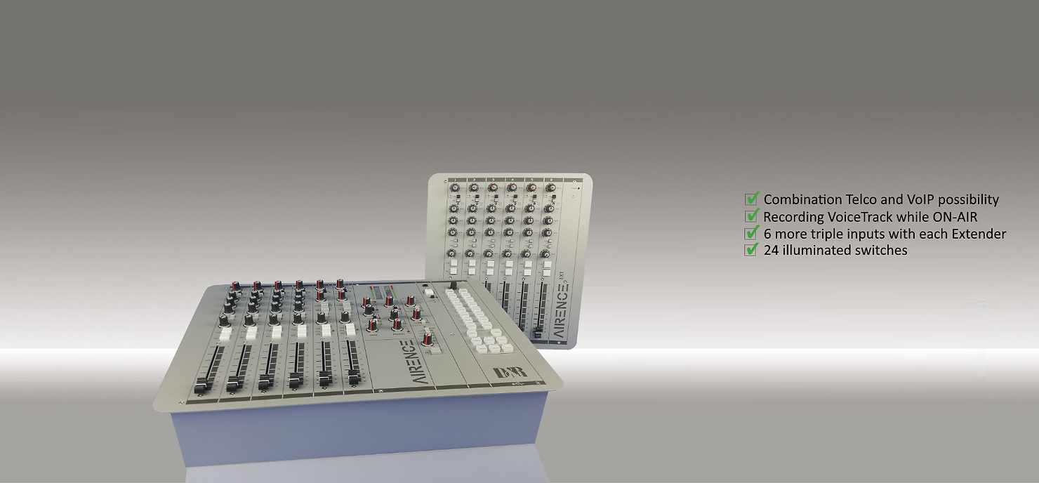 AIRENCE broadcast mixer