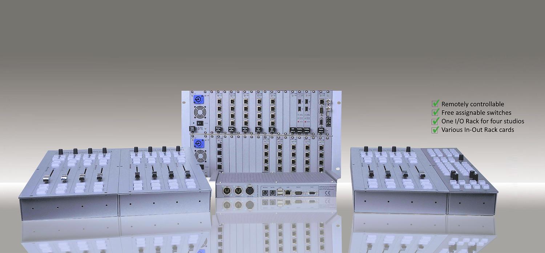 AXUM Broadcast mixer