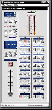 axum remote software master