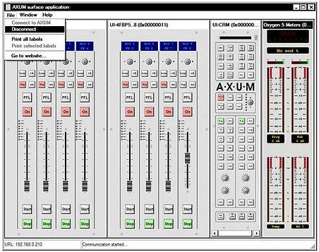 axum remote software