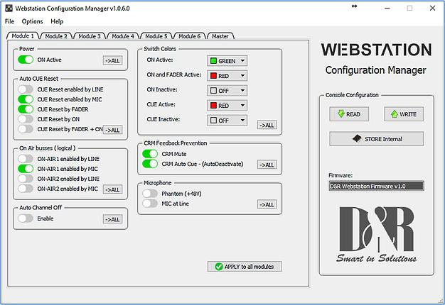 Webstation ConfigMicScreenshot
