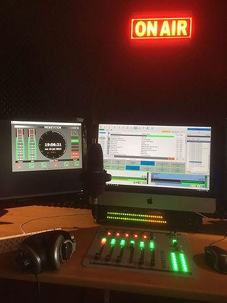 on-air in studio