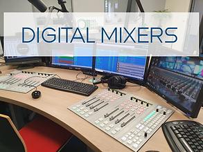 D&R Digital broadcast mixers