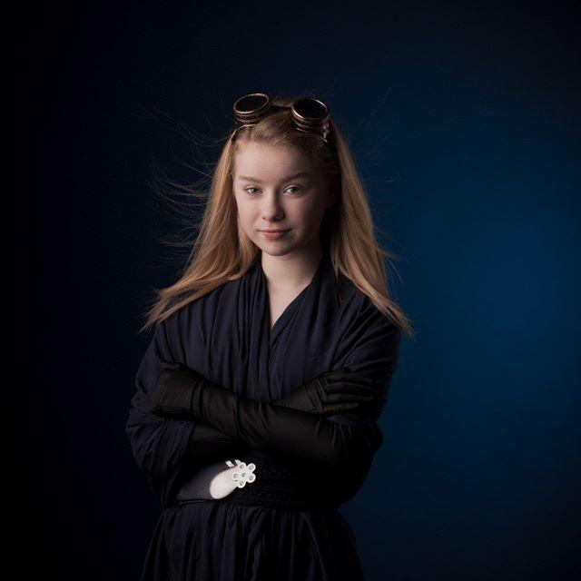 Portrait jeune fille - Maïwenn