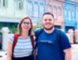 🥰🥰Our teachers Matt and Ellie on their