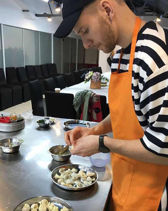 Jaemi @ A traditional cooking class
