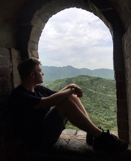 Harry @ The Great Wall
