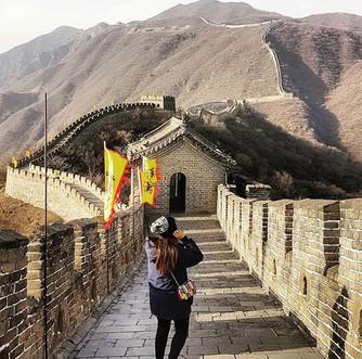 Charmi @ The Great Wall