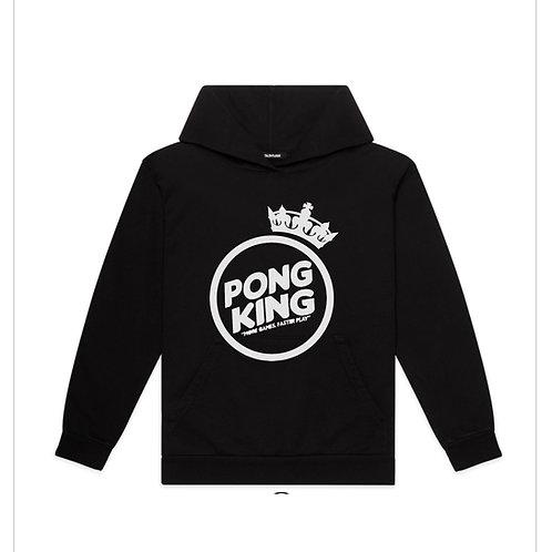 Pongkings Black Commish Hoodie