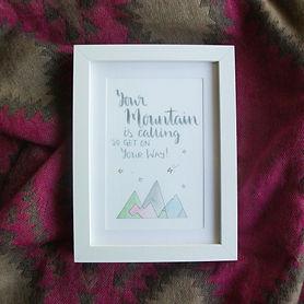 Mountain frame