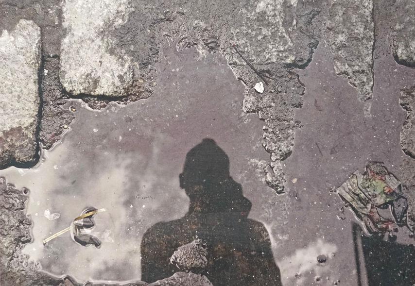 Self Portrait in SoHo, 2017