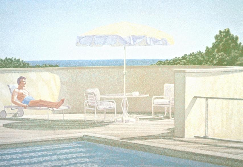 Poolside, One Man, 1983