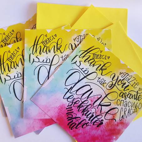NEU: Jetzt Dankeskarten für jeden Anlass bestellen!