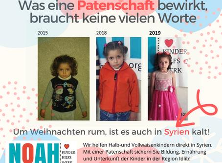 Hilf den Waisenkindern in Syrien!