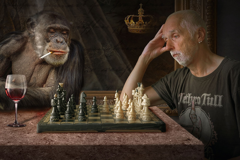 by Tabor Strategies Monkey vs Man