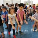 Exercicis de l'Alfredo als alumnes de 1r i 2n.