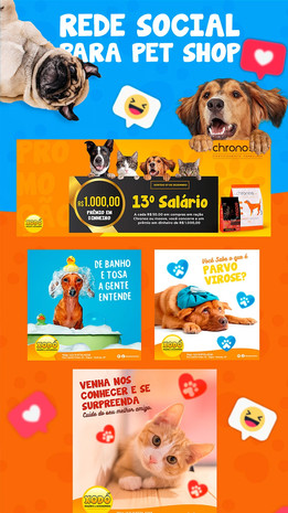 Rede Social para Pet Shop