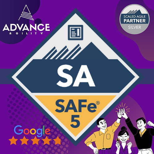 Leading SAFe 5.0, May 27 - May 28, Thu - Fri, 9am - 5pm, PST