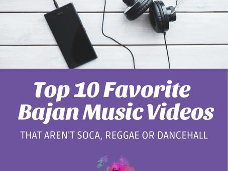 Top 10 Barbadian Music Videos that aren't Soca, Reggae or Dancehall.