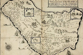 Map of Barbados Published in True and Ex