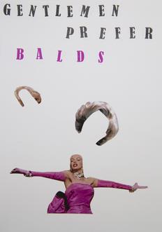 gentlemen prefer balds | kartki na złe okoliczności