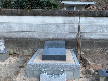 定林寺様のペット合祀墓完成いたしました