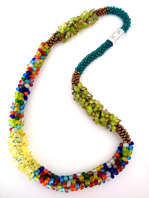 kumihimo necklacel