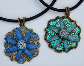 Dreamcatcher Bloomin' Silk Pendant
