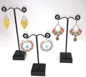 Trio of Micro Macramé Earrings